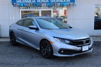 2019 Honda Civic Sport Automatic (CVT) 2.0L I4 DOHC 16V i-VTEC Engine Coupe 2 Door