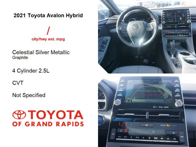 2021 Toyota Avalon Hybrid XLE Plus FWD Car 4 Door 2.5L 4-Cylinder DOHC 16V VVT Engine Automatic (CVT)