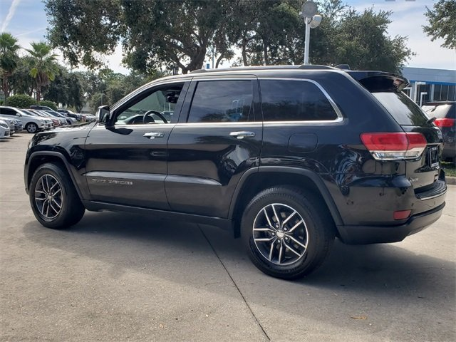 2018 Jeep Grand Cherokee Limited Automatic SUV RWD