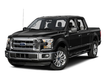 2015 Tuxedo Black Metallic Ford F-150 XLT 5.0L V8 FFV Engine Automatic 4 Door Truck