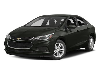 2018 Graphite Metallic Chevy Cruze LT Automatic Sedan 1.4L 4-Cylinder Turbo DOHC CVVT Engine