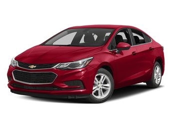 2018 Red Hot Chevy Cruze LT Automatic 1.4L 4-Cylinder Turbo DOHC CVVT Engine Sedan FWD 4 Door