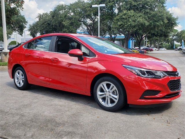 2018 Red Hot Chevy Cruze LT 4 Door 1.4L 4-Cylinder Turbo DOHC CVVT Engine Automatic