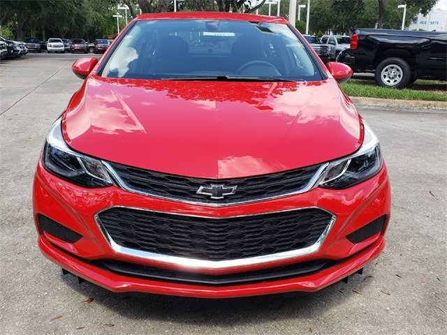 2018 Chevy Cruze LT 1.4L 4-Cylinder Turbo DOHC CVVT Engine Automatic FWD Sedan 4 Door