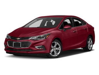2018 Cajun Red Tintcoat Chevy Cruze Premier FWD 4 Door Sedan 1.4L 4-Cylinder Turbo DOHC CVVT Engine Automatic