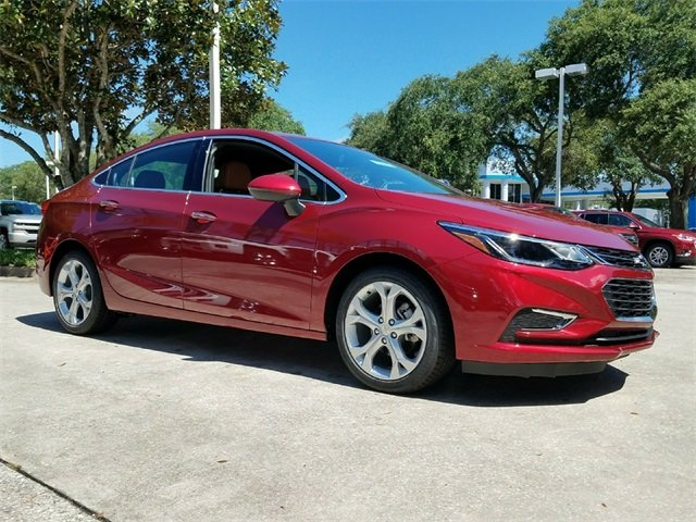 2018 Cajun Red Tintcoat Chevy Cruze Premier 4 Door Automatic 1.4L 4-Cylinder Turbo DOHC CVVT Engine Sedan FWD