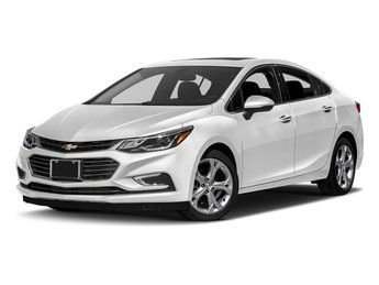 2018 Chevy Cruze Premier 1.4L 4-Cylinder Turbo DOHC CVVT Engine FWD Sedan Automatic 4 Door