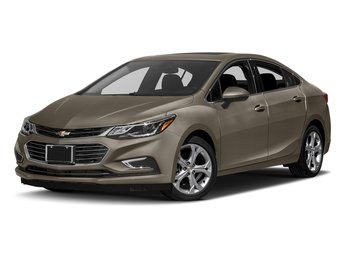 2018 Pepperdust Metallic Chevy Cruze Premier Automatic 4 Door FWD