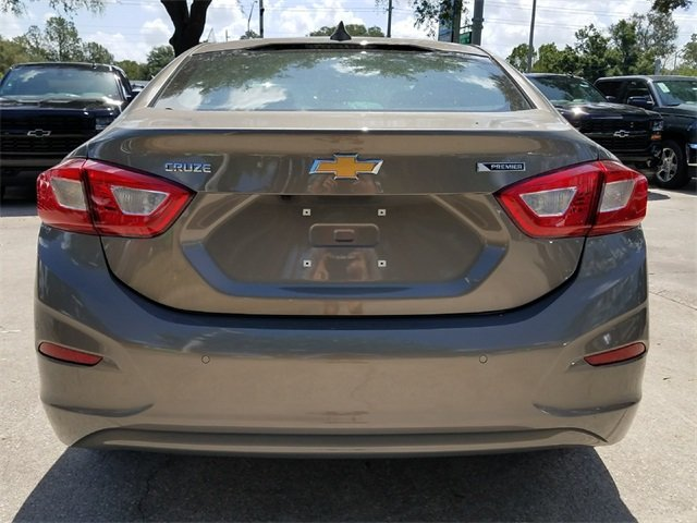 2018 Pepperdust Metallic Chevy Cruze Premier Automatic 1.4L 4-Cylinder Turbo DOHC CVVT Engine FWD