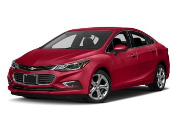 2018 Red Hot Chevy Cruze Premier Sedan FWD Automatic 1.4L 4-Cylinder Turbo DOHC CVVT Engine 4 Door