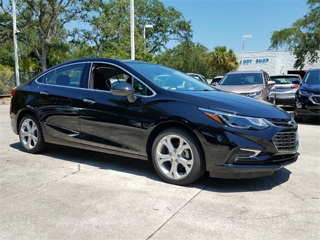 2018 Mosaic Black Metallic Chevy Cruze Premier FWD Automatic Sedan