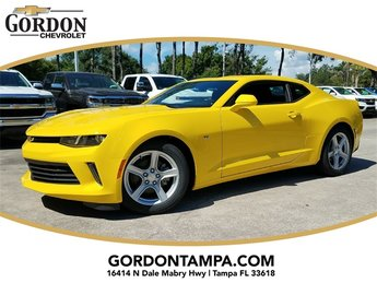 2018 Bright Yellow Chevrolet Camaro 1LT Coupe Automatic 3.6L V6 DI Engine 2 Door RWD