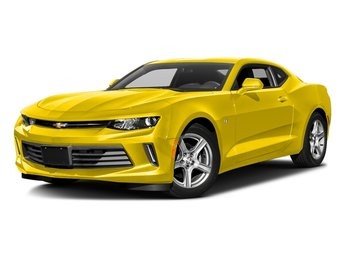 2018 Bright Yellow Chevy Camaro 1LT 3.6L V6 DI Engine RWD Automatic