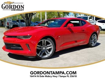 2018 Red Hot Chevrolet Camaro 2LT Coupe 3.6L V6 DI Engine 2 Door