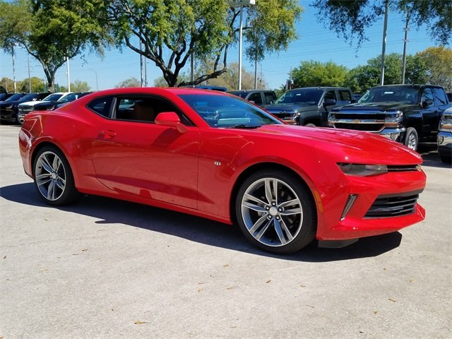 2018 Red Hot Chevy Camaro 2LT 3.6L V6 DI Engine Coupe 2 Door