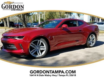 2018 Chevrolet Camaro 2LT RWD 2 Door Coupe Automatic