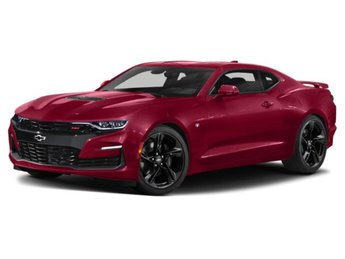 2019 Garnet Red Tintcoat Chevy Camaro SS 6.2L V8 Engine RWD Coupe Automatic 2 Door