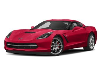 2018 Torch Red Chevy Corvette Stingray RWD 6.2L V8 Engine 2 Door Coupe Automatic
