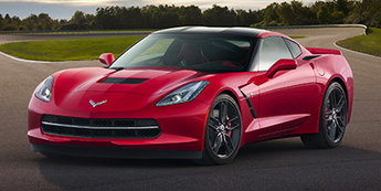 2019 Black Chevy Corvette Stingray Automatic RWD 6.2L V8 Engine Coupe