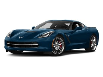 2017 Chevy Corvette Stingray Z51 Automatic RWD Coupe 2 Door