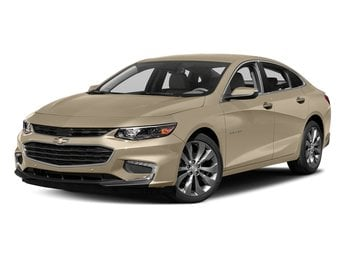 2018 Chevy Malibu Premier 2.0L 4-Cylinder DGI DOHC VVT Turbocharged Engine FWD 4 Door Sedan