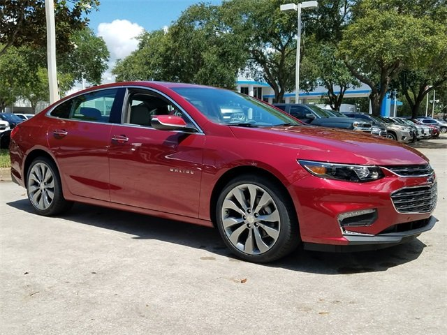2018 Cajun Red Tintcoat Chevy Malibu Premier Sedan 2.0L 4-Cylinder DGI DOHC VVT Turbocharged Engine 4 Door Automatic
