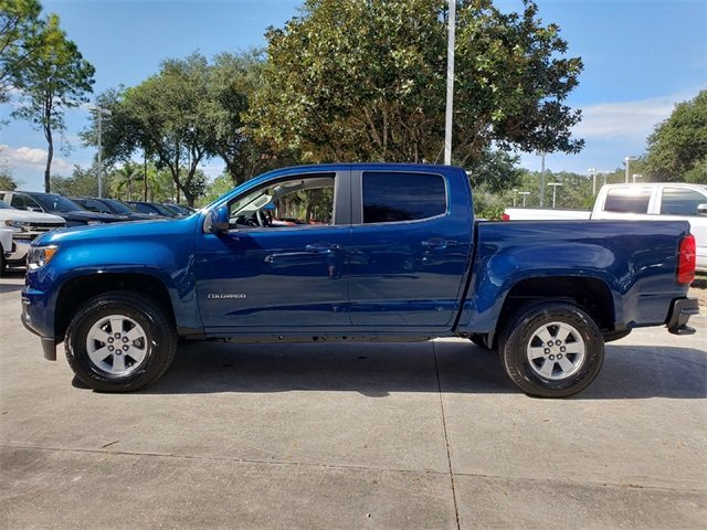 2019 Pacific Blue Metallic Chevy Colorado Work Truck Truck RWD Automatic V6 Engine 4 Door