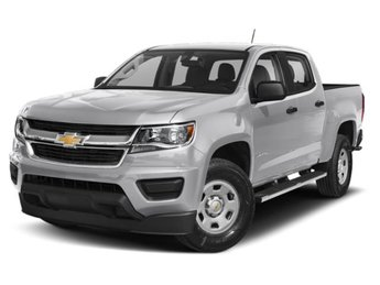 2019 Silver Ice Metallic Chevy Colorado LT RWD V6 Engine Truck