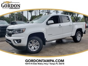 2018 Summit White Chevrolet Colorado LT V6 Engine 4 Door Automatic