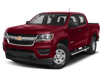 2019 Cajun Red Tintcoat Chevy Colorado Z71 Truck RWD V6 Engine Automatic