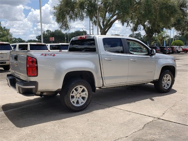2018 Silver Ice Metallic Chevy Colorado LT 4X4 4 Door V6 Engine Automatic Truck