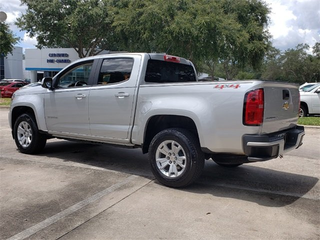 2018 Silver Ice Metallic Chevy Colorado LT V6 Engine Automatic 4 Door 4X4