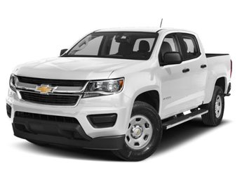 2019 Summit White Chevy Colorado Z71 4 Door V6 Engine Truck