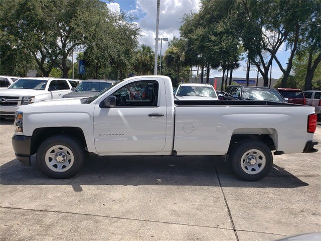 2018 Chevrolet Silverado 1500 WT V8 Engine Truck Automatic 2 Door RWD