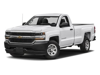 2018 Chevy Silverado 1500 WT 2 Door Truck EcoTec3 5.3L V8 Flex Fuel Engine