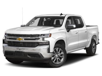 2019 Summit White Chevy Silverado 1500 LT Truck RWD Automatic 4 Door EcoTec3 5.3L V8 Engine