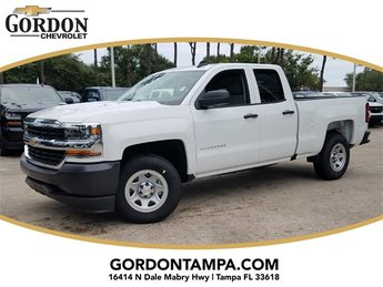 2018 Chevrolet Silverado 1500 WT RWD EcoTec3 5.3L V8 Flex Fuel Engine 4 Door