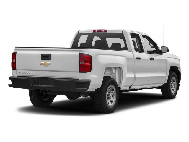 2018 Summit White Chevy Silverado 1500 WT EcoTec3 5.3L V8 Flex Fuel Engine 4 Door RWD Truck Automatic