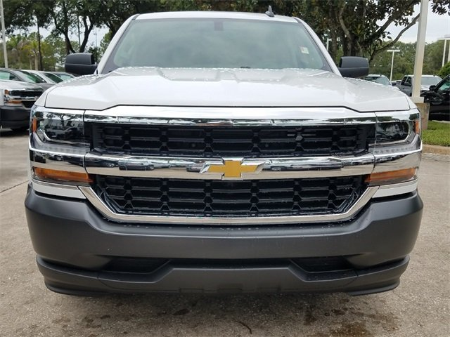 2018 Chevy Silverado 1500 WT Truck RWD 4 Door Automatic EcoTec3 5.3L V8 Flex Fuel Engine