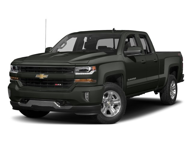 2018 Graphite Metallic Chevy Silverado 1500 LT EcoTec3 5.3L V8 Flex Fuel Engine Automatic RWD