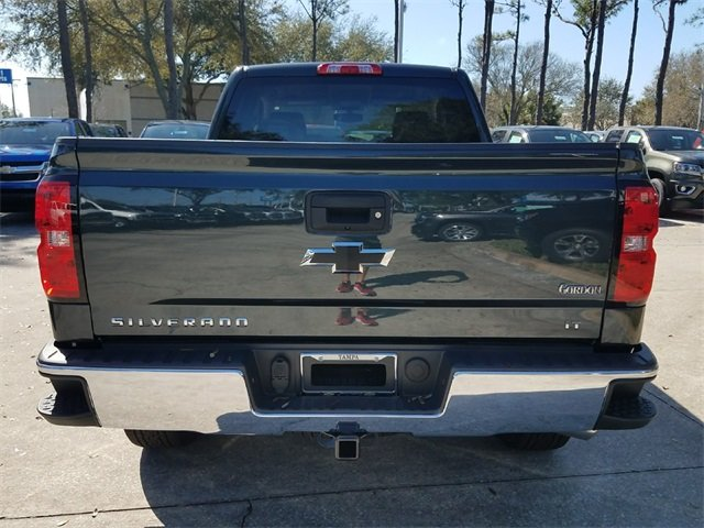 2018 Graphite Metallic Chevy Silverado 1500 LT 4 Door Automatic EcoTec3 5.3L V8 Flex Fuel Engine RWD Truck