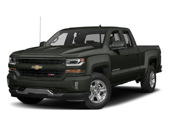 2018 Graphite Metallic Chevy Silverado 1500 LT Automatic Truck EcoTec3 5.3L V8 Flex Fuel Engine