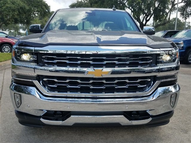 2018 Chevy Silverado 1500 LTZ Automatic Truck RWD EcoTec3 5.3L V8 Flex Fuel Engine 4 Door