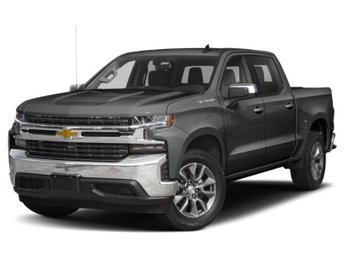 2019 Shadow Gray Metallic Chevy Silverado 1500 LT 4 Door Automatic EcoTec3 5.3L V8 Engine RWD