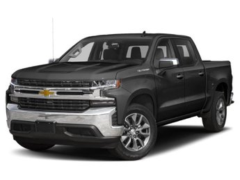 2019 Black Chevy Silverado 1500 LT 4 Door EcoTec3 5.3L V8 Engine RWD Truck Automatic