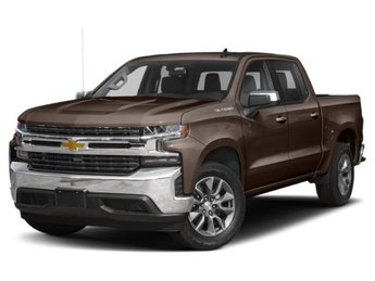 2019 Havana Brown Metallic Chevy Silverado 1500 LTZ RWD EcoTec3 5.3L V8 Engine Automatic
