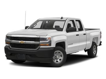 2018 Summit White Chevy Silverado 1500 WT Automatic 4X4 4 Door EcoTec3 5.3L V8 Flex Fuel Engine