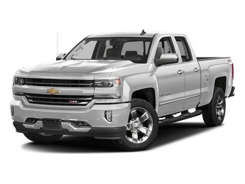 2018 Summit White Chevy Silverado 1500 LTZ Automatic 4 Door Truck 4X4