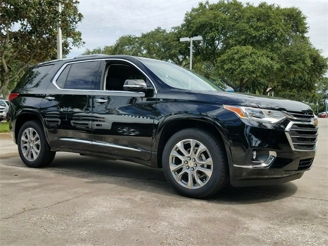 2018 Chevrolet Traverse Premier Automatic SUV 3.6L V6 SIDI VVT Engine 4 Door FWD