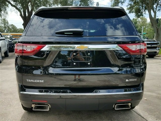 2018 Mosaic Black Metallic Chevy Traverse Premier SUV FWD 4 Door Automatic 3.6L V6 SIDI VVT Engine